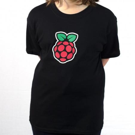 Raspberry Pi dětské tričko černé
