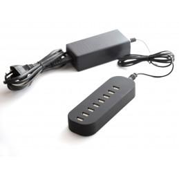 8portová napájecí USB stanice