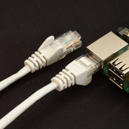 Síťový kabel, 1m, šedá
