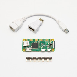 Raspberry Pi Zero W + adaptéry