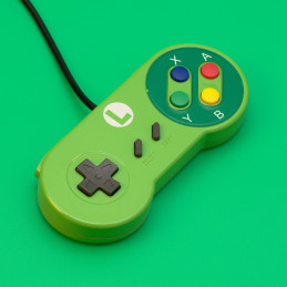 Retro USB SNES Gamepad, Luigi