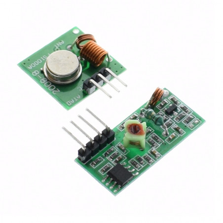 433MHz RF vysílač a přijímač