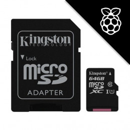 NOOBS + Kingston 64GB...