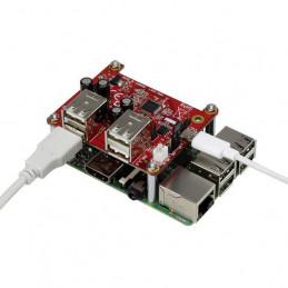 Renkforce USB rozbočovač, 4...
