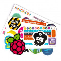 Pimoroni Super Sticker...