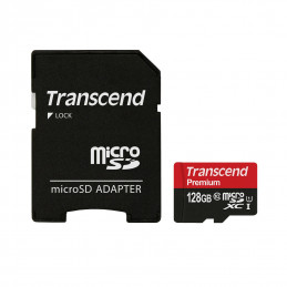 NOOBS + 128GB Transcend...