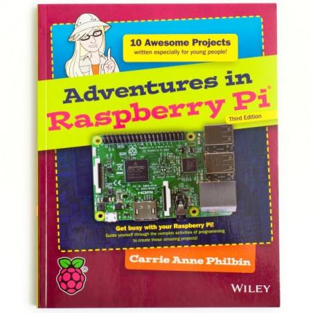 Vánoční Adventures in Raspberry sada se součástkami