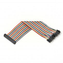 40žilový GPIO plochý kabel,...