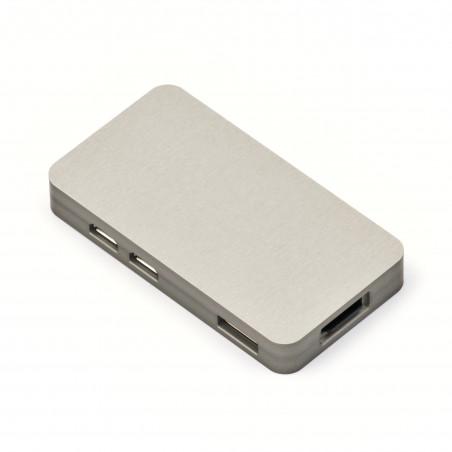 Frézovaná hliníková krabička pro Zero, stříbrná