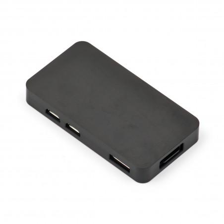 Frézovaná hliníková krabička pro Zero, černá