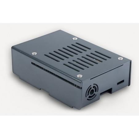 KKSB Hliníková krabička pro Raspberry Pi 3B/+, šedá