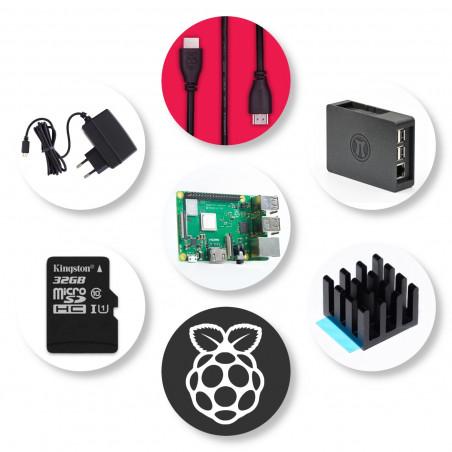 Zonepi Raspberry Pi sada - 3B+, 32GB, 3A