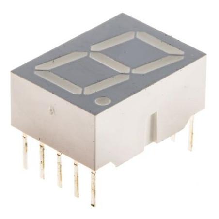 LED displej sedmisegmentový, červené diody
