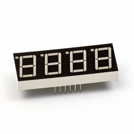 LED displej sedmisegmentový, červené diody, 4místný