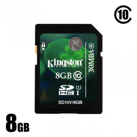 Použitá 8GB SDHC karta Kingston cl.10
