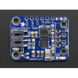 Adafruit PowerBoost 500 basic (5V USB Boost @ 500 mA from 1.8V+)