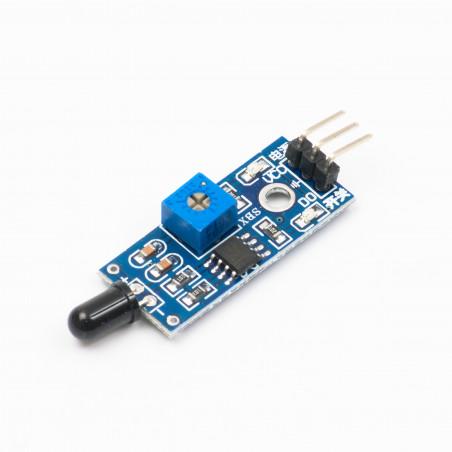 Senzor plamene, infračervený, 3 piny