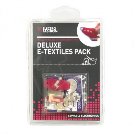 Svítící oblečení - Kitronik Electro-Fashion Deluxe E-Textiles Pack