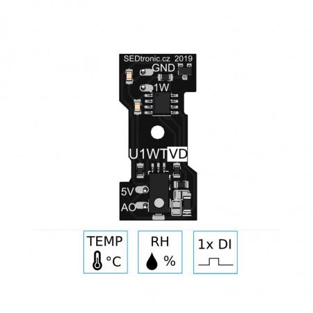 Unica 1-wire senzorový modul U1WTVD
