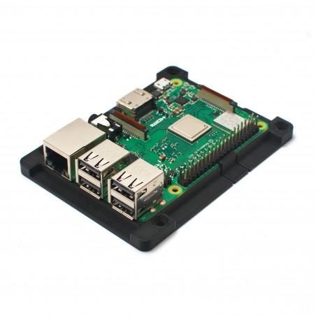 Zonepi Super Cabrio rámeček pro Raspberry Pi 3B+, černá