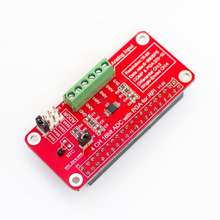 16bitový I2C ADS1115 modul pro Raspberry Pi