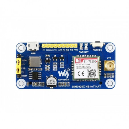 Waveshare SIM7020E NB-IoT HAT pro Raspberry Pi