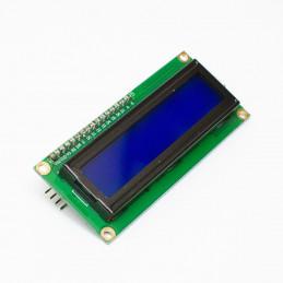 16x2 LCD I2C displej, modrý