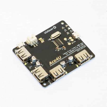 Ace4U: 4portový USB Hub pro Raspberry Pi A+/3A+