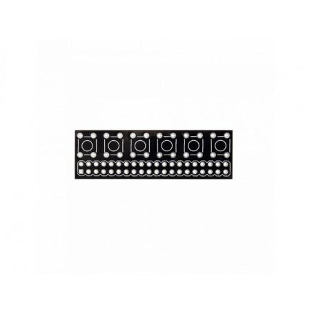 GPIO Button Adapter - Tlačítka pro Raspberry Pi