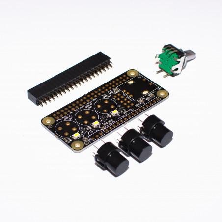 IQaudIO Cosmic Controller kit, nespájený