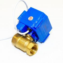 Motorizovaný kulový ventil