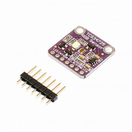 TCS34725 RGB barevný senzor pro rozpoznání světla RGB