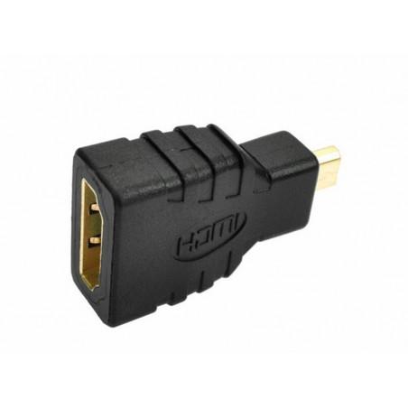 HDMI - microHDMI redukce, černá