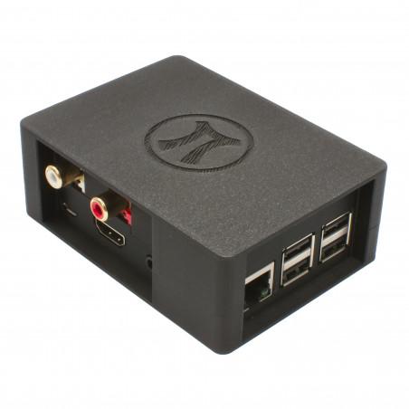 Zonepi krabička pro Raspberry Pi 3B+ a Allo Boss, černá