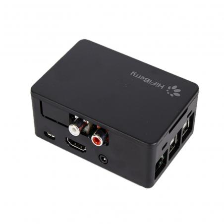 Raspberry Pi 3B+ multimediální centrum s HiFiBerry DAC