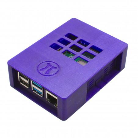Zonepi krabička pro Raspberry Pi 4B, metalická fialová