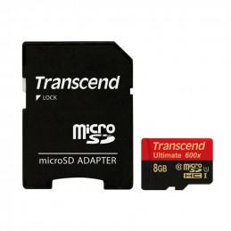 NOOBS + 8GB Transcend Ultimate microSDHC UHS-I U1 TS8GUSDHC10U1 + SD adaptér