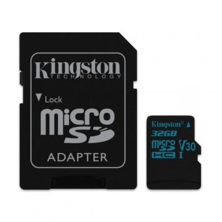 NOOBS + 32GB Kingston microSDHC V30 U3 SDCG2/32GB + SD adaptér