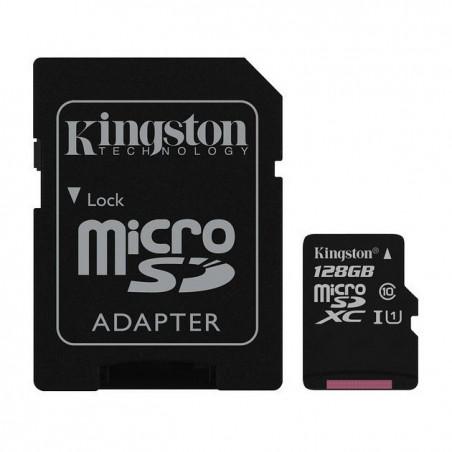 NOOBS + 128GB Kingston Canvas Select microSDXC UHS-I U1 SDCS/128GB