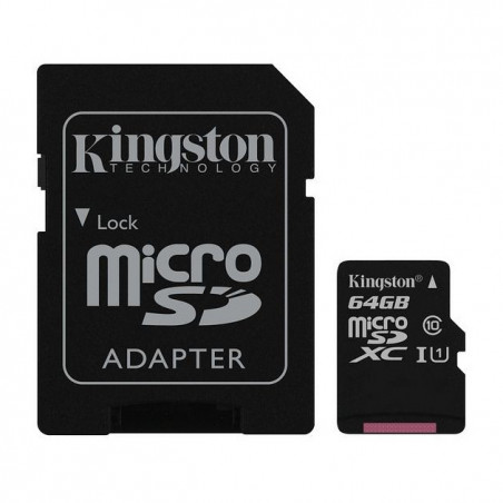 NOOBS + 64GB Kingston Canvas Select microSDXC UHS-I U1 SDCS/64GB