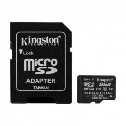NOOBS + 8GB Kingston Industrial Micro SDHC Class 10 UHS-I SDCIT/8GB + SD adaptér
