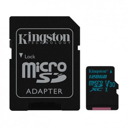 NOOBS + 128GB Kingston Canvas Go microSDXC V30 UHS-I U3 SDCG2/128GB