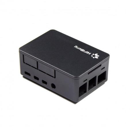 HiFiBerry univerzální krabička pro Raspberry Pi 4, černá
