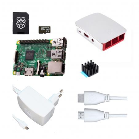 Oficiální Raspberry Pi 3B/1GB sada, bílá