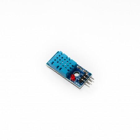 Senzor teploty a relativní vlhkosti, DHT11+DPS
