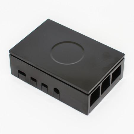 Multicomp plastová krabička pro Raspberry Pi 4 B, černá
