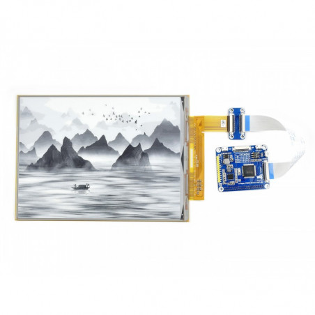 "Waveshare 10.3"" flexibilní e-ink displej (D), 1872×1404, USB/SPI/I80/I2C"