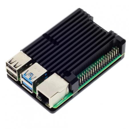 Chladicí sada (krabička) pro Raspberry Pi 4B, černá