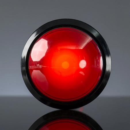 Pimoroni velké arkádové tlačítko s LED, červené