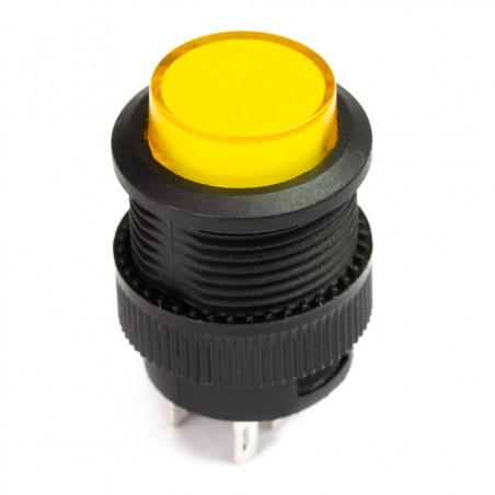 Pimoroni Svíticí žluté tlačítko